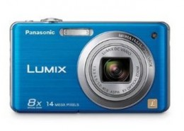 Panasonic Lumix DMC-FH20 14.1 MP Digital Camera with 8x Optical Image Stabilized Zoom and 2.7-Inch LCD