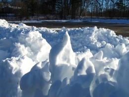 Snow Sculptures Near Home