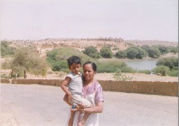 Distant view of Bara bagh-Jaisalmer, Rajasthan