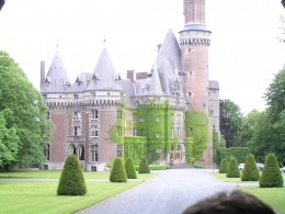 The castle of the de Ligne Princes at Antoing