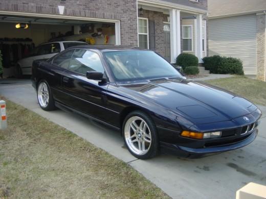 BMW 8 series.