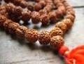 Mantra mala with meru bead