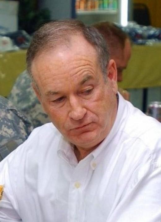 Bill O'Reilly during an interview.