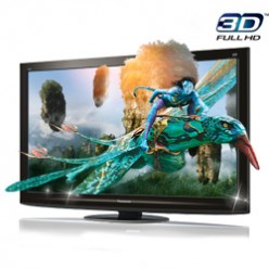 The Panasonic VIERA TC-P42GT25 3D Plasma HDTV