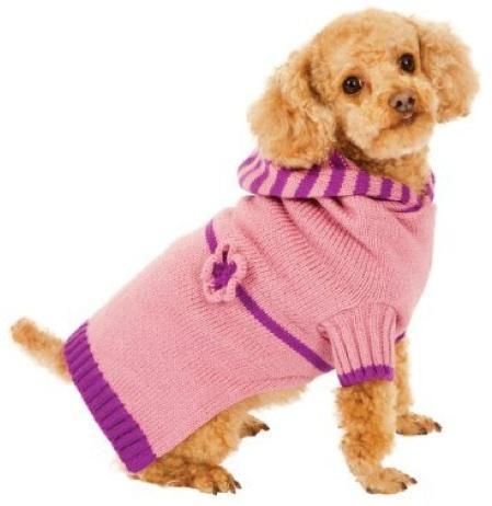 Fashion Pet Pink Dog Hoodie