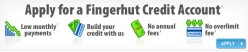 Get A Fingerhut Credit Line Even If You Have REALLY Bad Credit