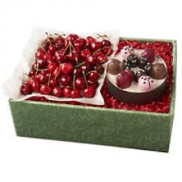 Fresh Cherries & Chocolates