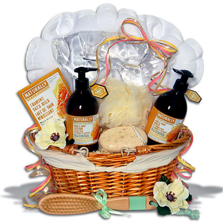 Bathe In Luxury Spa Gift Basket