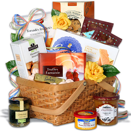 Day In Paris - Gift Basket
