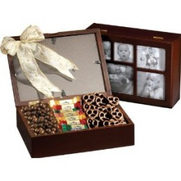 Broadway Basketeers Chocolate Photo Gift Box