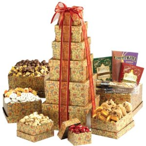 Broadway Basketeers Ultimate Gourmet Valentine's Day Gift Tower