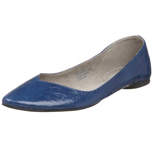 Infuse style into your wardrobe with a pair of blue flats