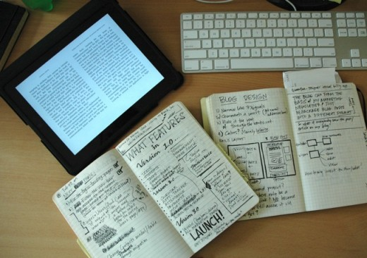 A 'Commonplace'  Book - Diary of snippets and ideas