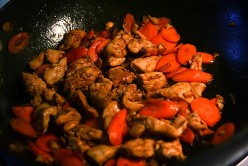 Easy Stir Fry Recipes - Velvet Chicken with Ginger Carrots Recipe