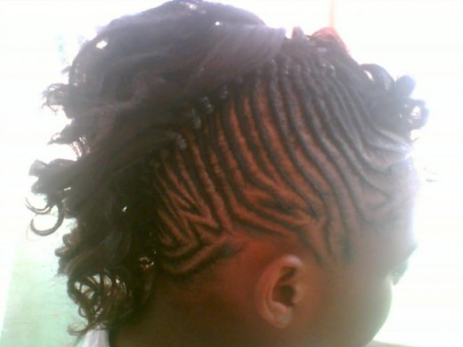 side view mohawk