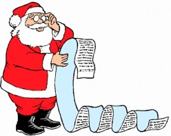 A Letter from Santa to his elves