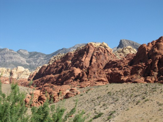Another great setting in the Red Rock Canyon.
