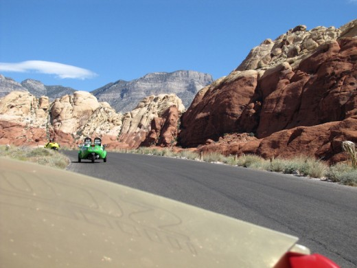 One of the most stunning views for me in the Red Rock Canyon.
