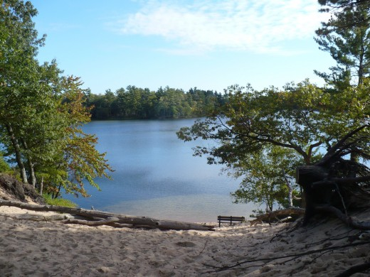 Lost Lake, Ludington State Park