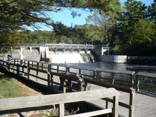 Hamlin Lake Dam, Ludington State Park