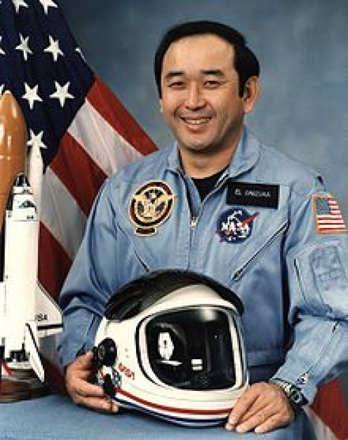 Ellison Shoji Onizuka ( June 24, 1946 - January 28, 1986) was a Japanese American astronaut from Kealakekua, Kona, Hawaii, who successfully flew into space with the Space Shuttle Discovery on STS-51-C, before losing his life in the tragedy.