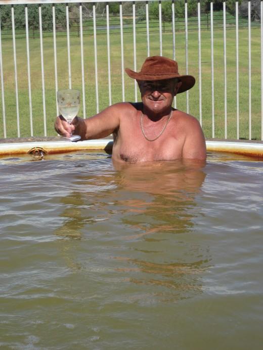 We enjoyed the hot tub !