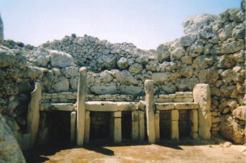 Ggantija temple of Malta