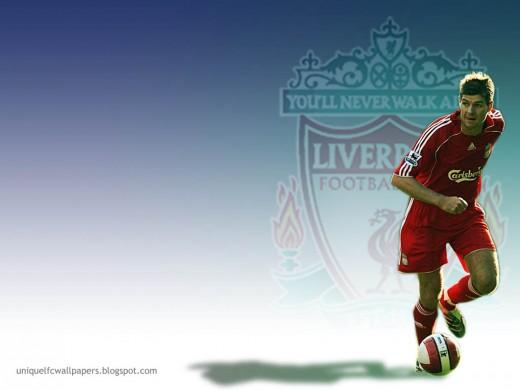 Ideal Steven Gerrard Desktop Wallpaper