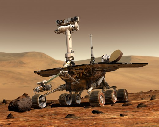 NASA's Mars Rover, Spirit--has been on Mars for over six years and still going strong!