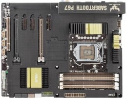 ASUS LGA 1155 P67 SATA 6 GBps and USB 3.0 Supported-ATX Motherboard Sabertooth P67