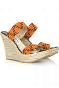 Jimmy Choo Espadrille Wedges