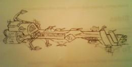 Early Earth Battle ship.