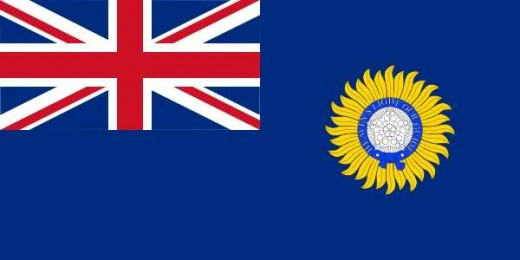 The Flag of British India - India the Jewel of the Empire