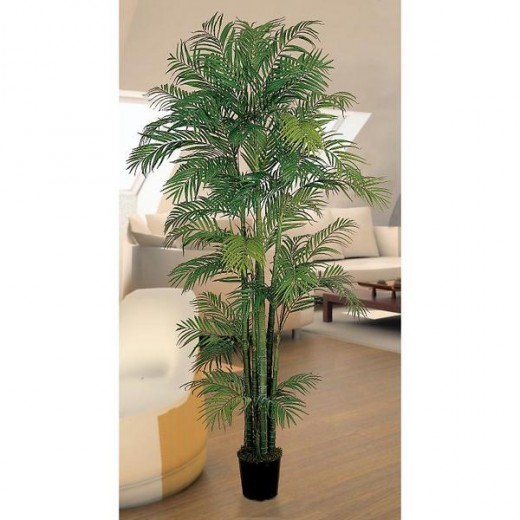 A silk palm tree of high quality can give you a natural look in your decor.