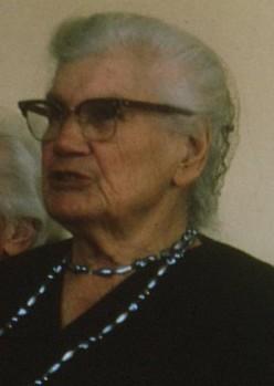 My grandmother Miemie McGregor