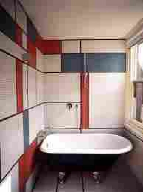 A British bathroom, one meter square!
