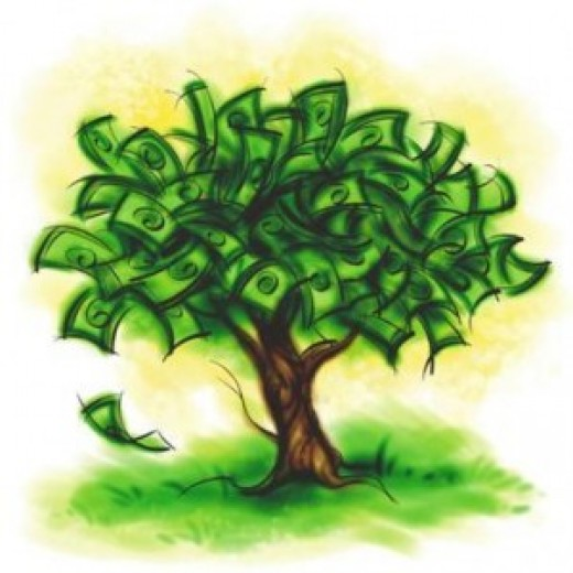 Money seems to be the tree of life