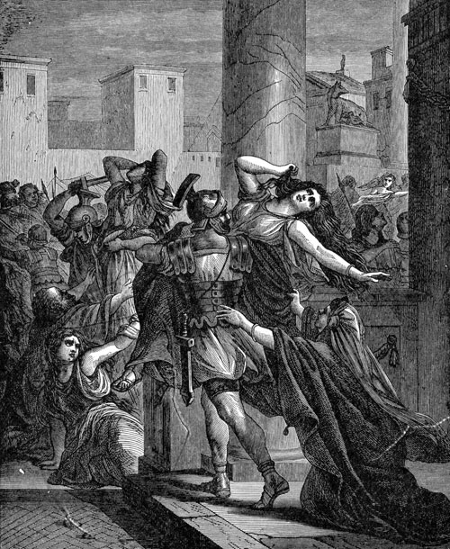 Boudicca was a woman who wouldn't take defeat for an answer. She fought against the Romans bravely.