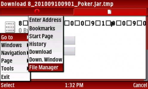 23) After save is complete SELECT Menu-Go To-FileManager