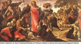 Jesus fed the multitude, food for the soul