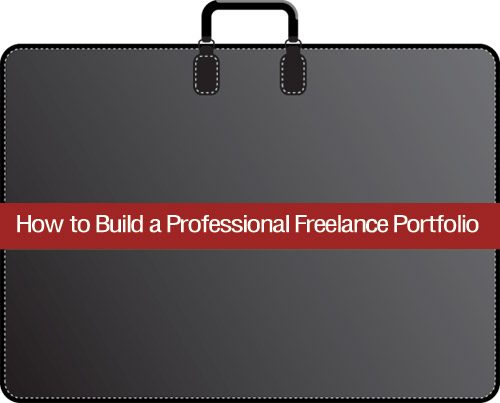 Click on the web address to go to viewing tips on Building a Professional Freelance Portfolio