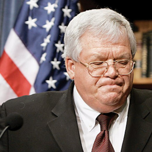 Dennis Hastert may get the broom for protecting congressman Foley