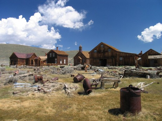 Ghost town of Bodie, California, USA.