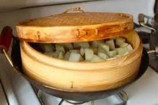 A wok
