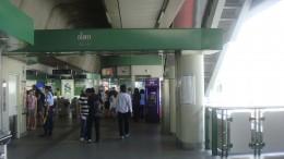 Asoke Station BTS Sky Train