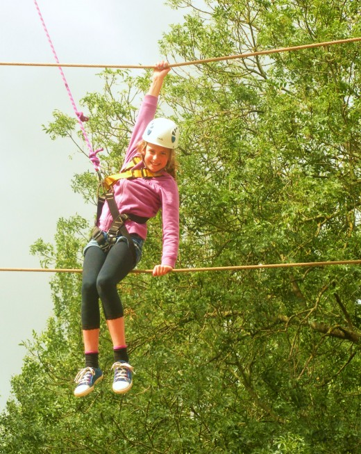 High Ropes Willen Lake