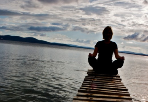 Meditation and prayer both work by clearing the mind and giving you a feeling of peace.