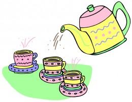 Having some Oolong Tea