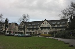 The Bilderberg Hotel, site of the first conference, and its namesake.