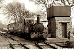 1900 or 2010? - the Isle of Man Railway is timeless -  David Lloyd-Jones 2010